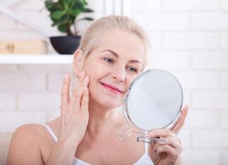 Pielęgnacja skóry po 60. roku życia